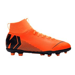 Nike Kids  Mercurial SuperFly 6 Club FG Outdoor Soccer Cleats - Orange e46f429db