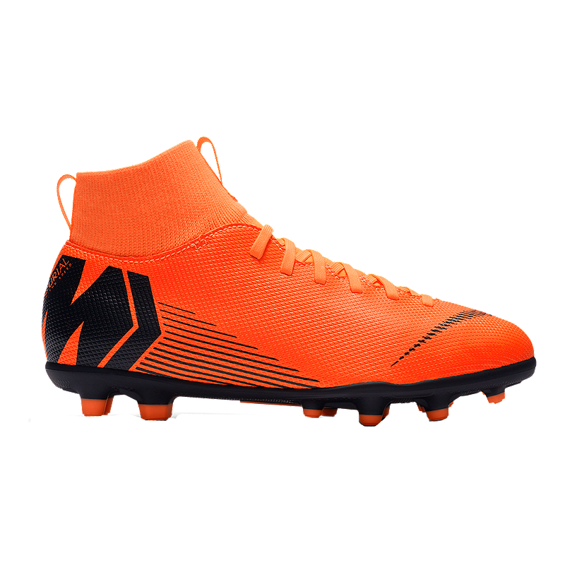 3c35b49ef Nike Kids  Mercurial SuperFly 6 Club FG Outdoor Soccer Cleats - Orange