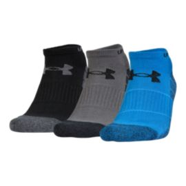 Under Armour Men's Elevated Performance No Show Socks - 3 Pack