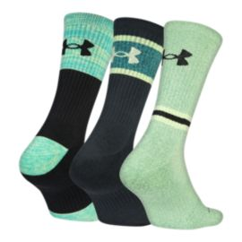 Under Armour Men's Phenom Twisted 2.0 Crew Socks - 3 Pack