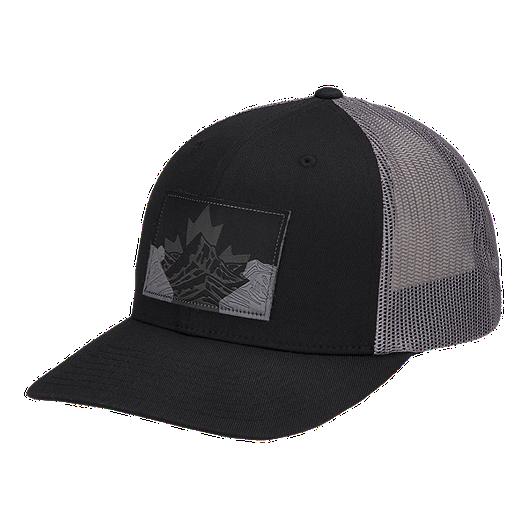 e0f3e6a4ad3 Columbia Men s Mesh Snapback Hat - Black Canadian Rockies