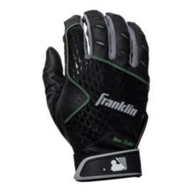 Franklin MLB 2nd Skinz Batting Gloves - Black