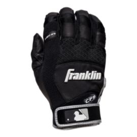 Franklin MLB X-Vent Pro Batting Gloves - Black