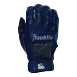 Franklin MLB CFX Pro Chrome Batting Gloves - Navy Blue