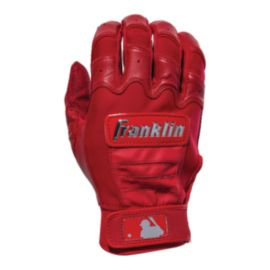Franklin MLB CFX Pro Chrome Batting Gloves - Red