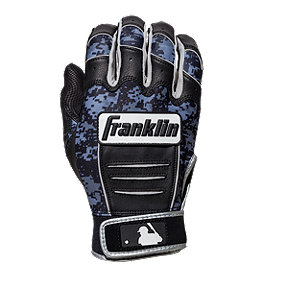 Franklin MLB CFX Pro Digi Series Batting Gloves - Black