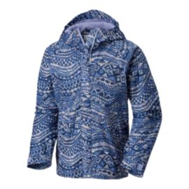 Columbia Girls' Fast & Curious Print Rain Jacket