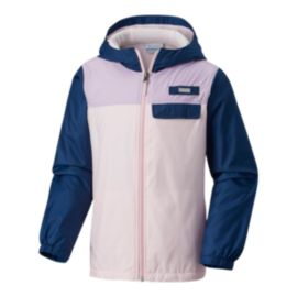 Columbia Girls' Mountain Side Lined Windbreaker Jacket