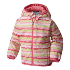 Columbia Baby Mini Pixel Grabber II Fleece Lined Wind Jacket