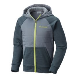 Columbia Boys' S'More Adventure Hybrid Hoodie