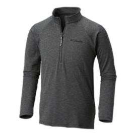 Columbia Boys' Silver Ridge 1/4 Quarter Length Zip Top