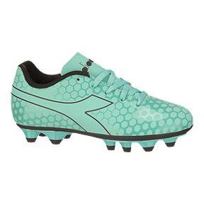 56bb3bbd143 Diadora Girls  Primo FG Grade School Outdoor Soccer Cleats - Light Blue