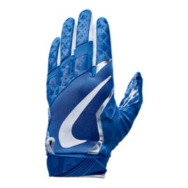 Nike Vapor Jet 4.0 Football Receiver Gloves - Blue/White