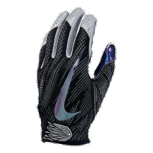 4f1985709759 Nike Vapor Knit 2.0 Football Receiver Gloves - Black Iridescent ...