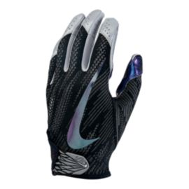 Nike Vapor Knit 2.0 Football Receiver Gloves - Black/Iridescent
