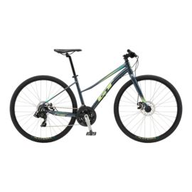 GT Transeo Sport Women's Urban Commuter Bike 2018 - Satin Gunmetal