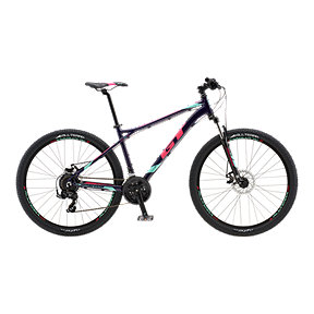 GT Aggressor Sport Women's Mountain Bike 2018 - Gloss Deep Plum
