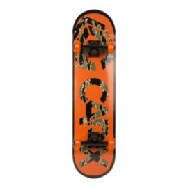 Capix Double Kick Skateboard- Orange/ Camo 2018