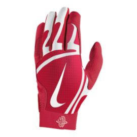 Nike Hurache Pro Batting Gloves - University Red/White