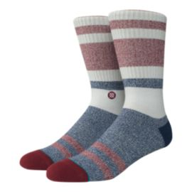 Stance Men's Foundation Robinson Crew Socks - Red