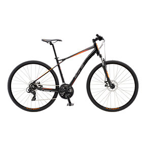 GT Transeo Comp Men's Hybrid Bike 2018 - Gloss Black