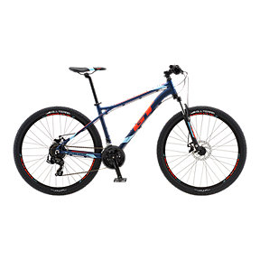 GT Aggressor Sport Men's Mountain Bike 2018 - Deep Navy Gloss