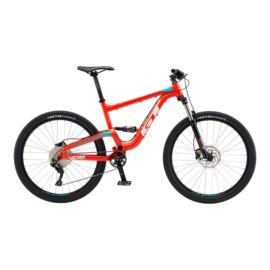 GT Verb Elite Men's Full Suspension Mountain Bike 2018 - Neon Red