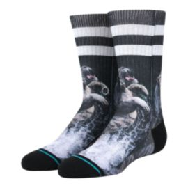 Stance Boys' Khan Crew Sock - Black