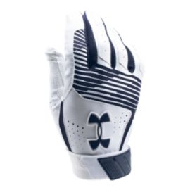 Under Armour Clean Up Batting Glove - Navy Blue/White