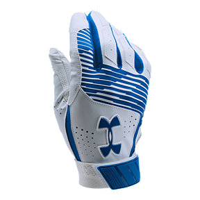 Under Armour Clean Up Batting Glove - Royal Blue/White