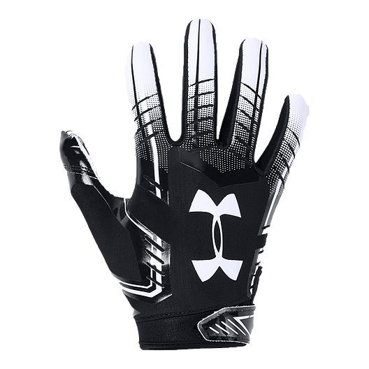 Salida puede alumno  Under Armour F6 Youth Football Glove - Black/White | Sport Chek