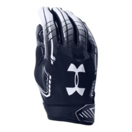 Under Armour F6 Football Glove - Navy/White