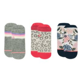 Stance Toddler Girls' XO Socks - 3 Pack