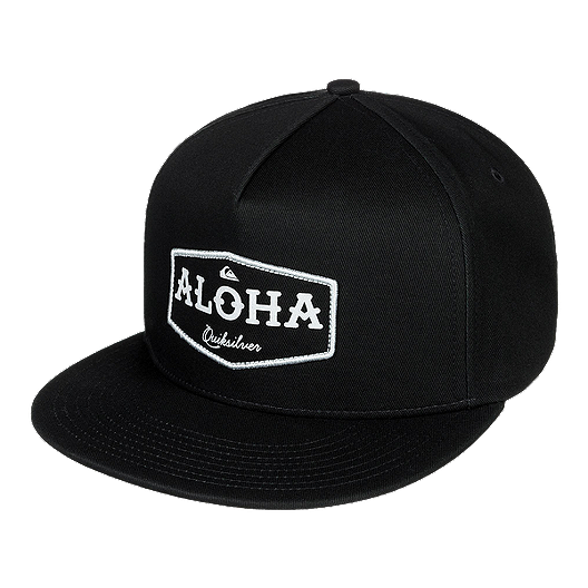 official photos 10d9c ba493 Quiksilver Men s State Of Aloha Snapback Hat - Black   Sport Chek