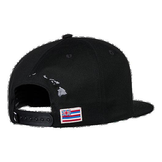 best website ce8cc 523aa Quiksilver Men s State Of Aloha Snapback Hat - Black. (0). View Description