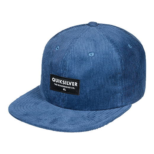 1889ebf4b69910 Quiksilver Men's Prouder Chowder Snapback Hat - Indigo - VINTAGE INDIGO