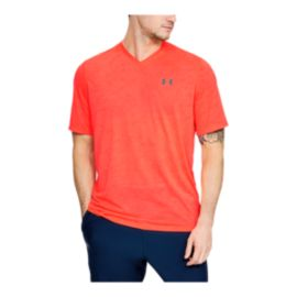 Under Armour Men's Threadborne Siro Printed V-Neck T Shirt