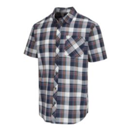O'Neill Men's Gentry Short Sleeve Plaid Shirt