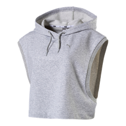 Puma Women s Cropped Sleeveless Pullover Hoodie  554e22c77