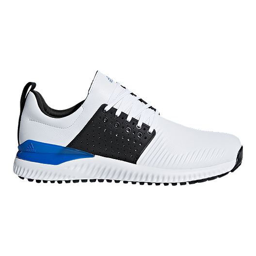 af1a6792caaed adidas Golf Men s Adicross Bounce Golf Shoes - Running White Core Black Blue