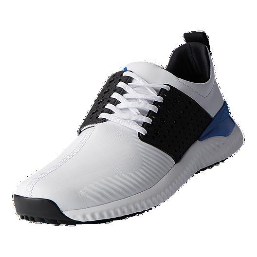 adidas Golf Men's Adicross Bounce Golf Shoes Running WhiteCore BlackBlue