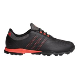 adidas Golf Women's Adipure Sport Golf Shoes - Black/Coral