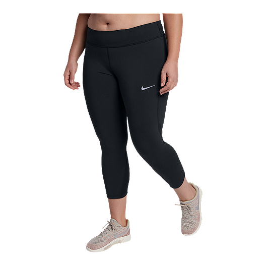 91fbcb2dff2 Nike Women s Epic Lux Plus Size Running Crop Tights