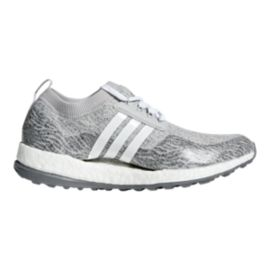 adidas Golf Women's Pureboost XG Gold Shoes - Grey/White