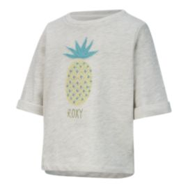 Roxy Girls' 2-7 Always Kind Short Sleeve Fleece Crew Shirt
