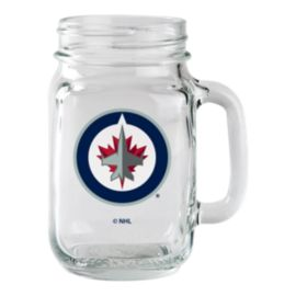 Winnipeg Jets Mason Jar Mug