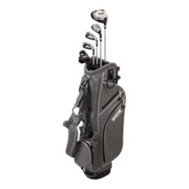 Powerbilt TPX Junior Tour Boy's Golf Set - Ages 9-12, Grey/Silver