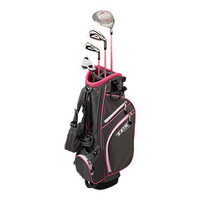 Powerbilt TPX Junior Tour Girls Golf Set - Ages 5-8, Pink/Black