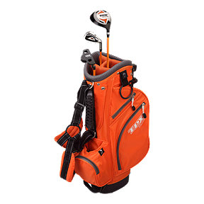 Powerbilt TPX Junior Tour Kids Golf Set - Ages 3-5, Orange
