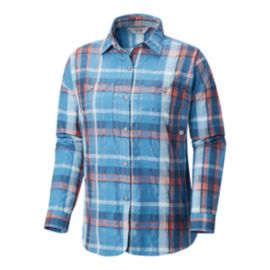 Mountain Hardwear Women's Canyon VNT Long Sleeve Shirt - Strom Cloud